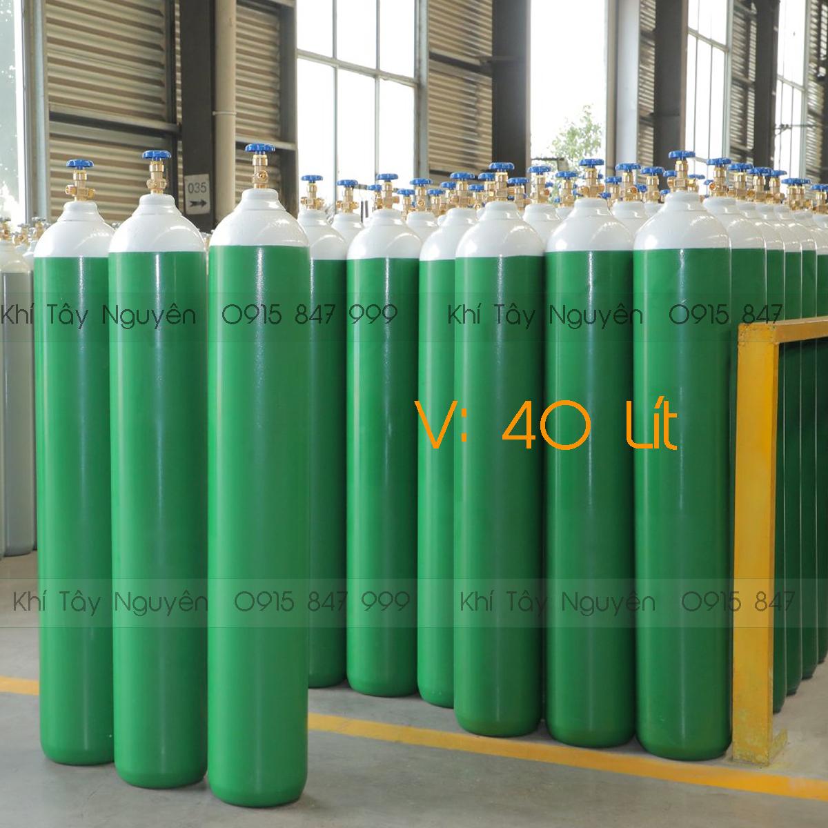 Bình CO2 40 Lít